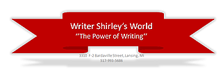 Writer Shirley's World